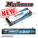 IMPACT LCG Max-Punch FD2 Li-Po Battery 5200mAh/7.4V 120C Flat Hard Case