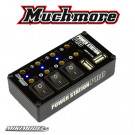 Power Station Pro Multi Distributor Black (With Tow Usb Charging Port)