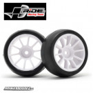 "Ride Preglued M-Chassis ""Mc38"" Low Profile Tire, Inch-Up Wheel + Sponge Inner"